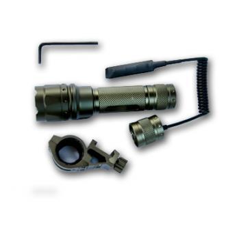 AIM Sports 180 Lumens, LED Flashlight with Offset Mount